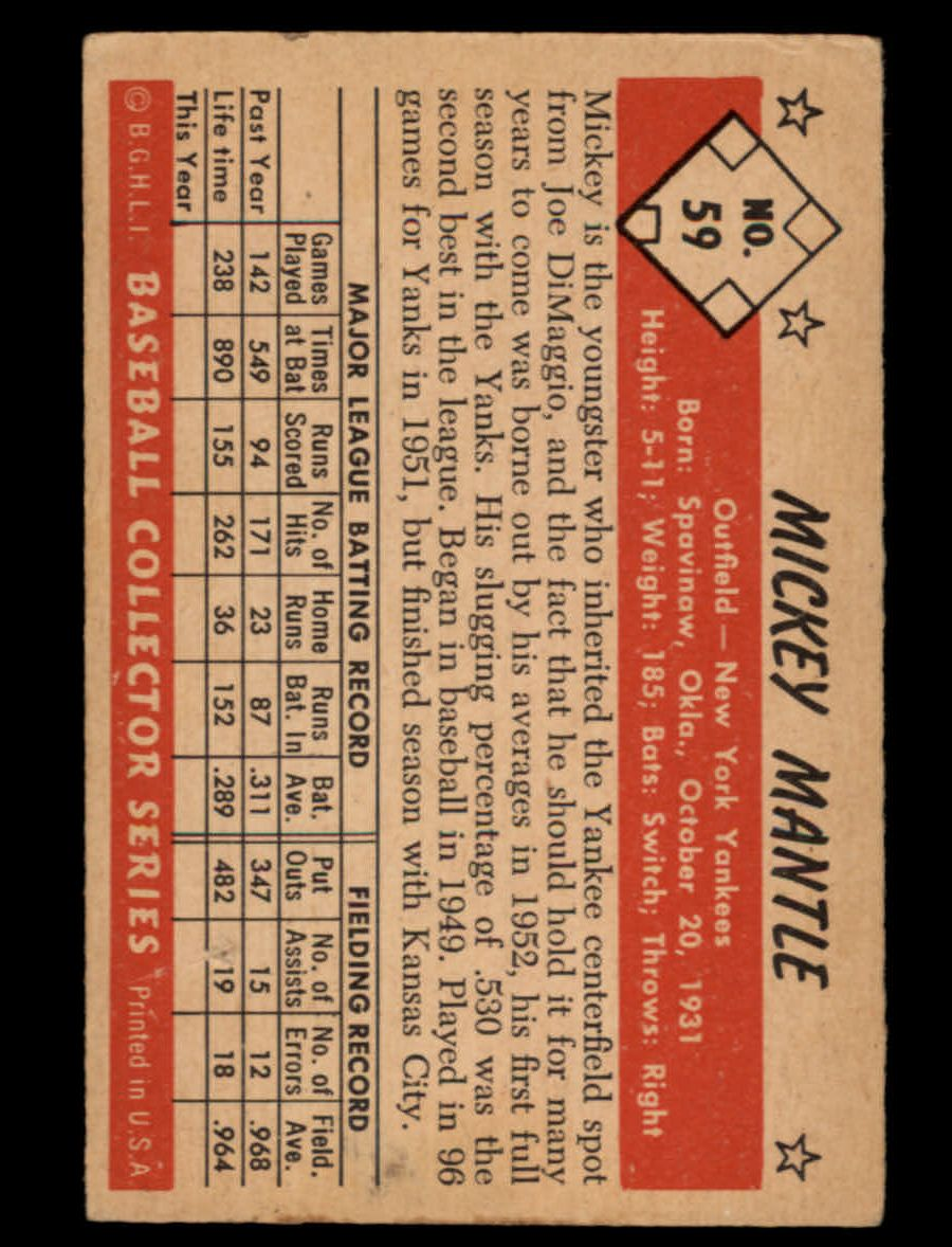 1953 Bowman     Color Baseball Complete Set