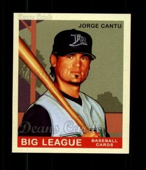 2007 Upper Deck Goudey Red Backs #184  Jorge Cantu