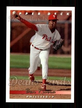 1993 Upper Deck #389  Ben Rivera