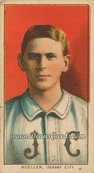 1909 T206 Reprint #342  Don Moeller
