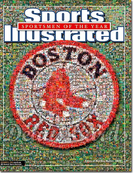 2004 Sports Illustrated   December 6  -  Boston Red Sox Photo Montage SOY Sportsmen Of The Year