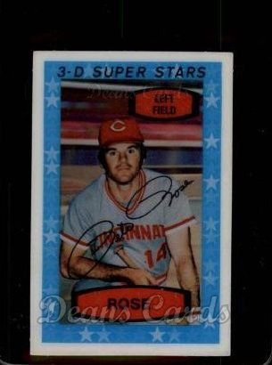 1975 Kelloggs #11  Pete Rose