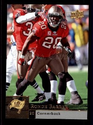 2009 Upper Deck #186  Ronde Barber