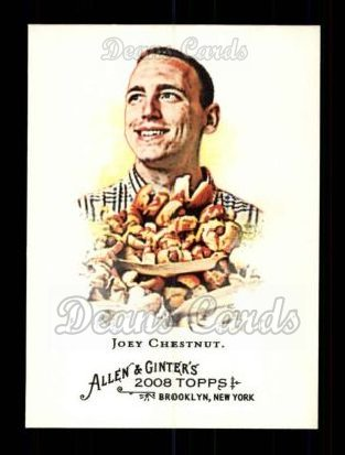 2008 Topps Allen & Ginter #109  Joey Chestnut