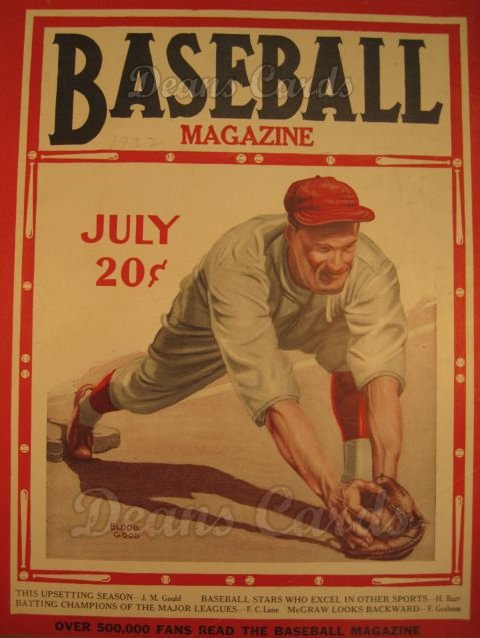 1932 Baseball Magazine    July