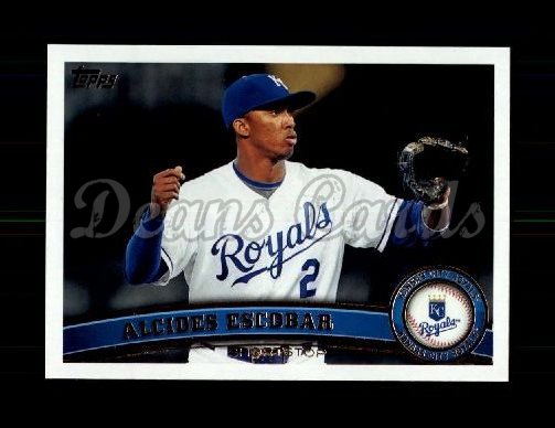 2011 Topps Update #246  Alcides Escobar
