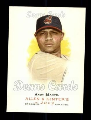 2007 Topps Allen & Ginter #65  Andy Marte