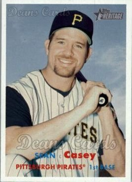2006 Topps Heritage #9  Sean Casey