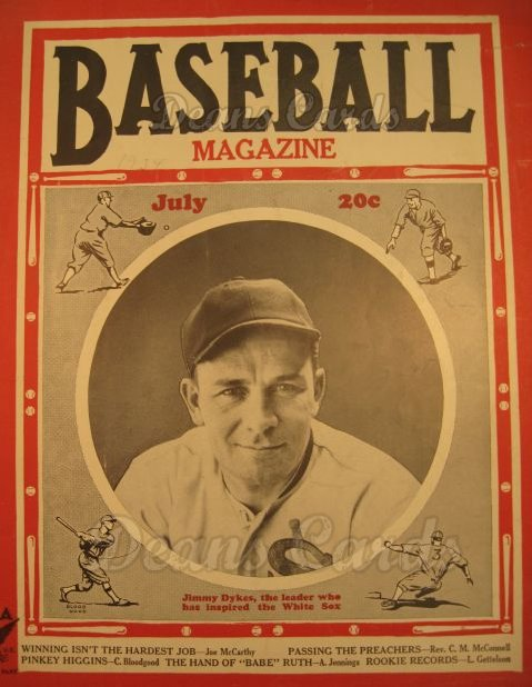 1934 Baseball Magazine    July