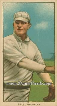 1909 T206 Reprints #30 PCH George Bell
