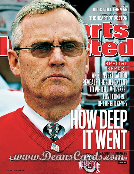 2011 Sports Illustrated   June 6  -  Jim Tressel / Ohio State / Investigative Report