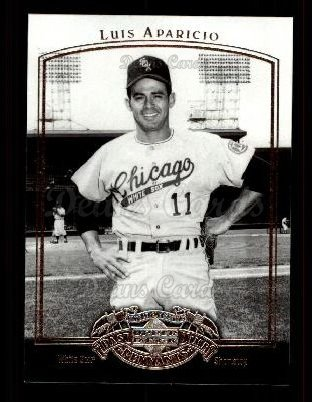 2005 Upper Deck Past Time Pennants #53  Luis Aparicio