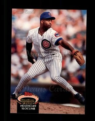 1992 Topps Stadium Club #382  Heathcliff Slocumb