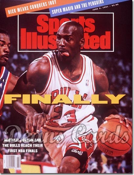 1991 Sports Illustrated   June 3  -  Michael Jordan (Chicago Bulls)
