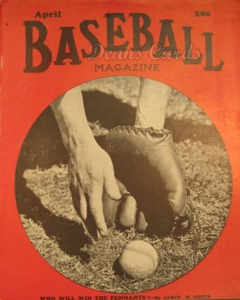 1940 Baseball Magazine    April