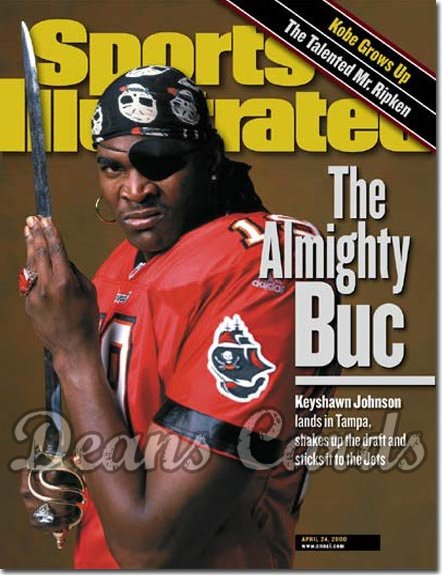 2000 Sports Illustrated   April 24  -  Keyshawn Johnson Tampa Bay