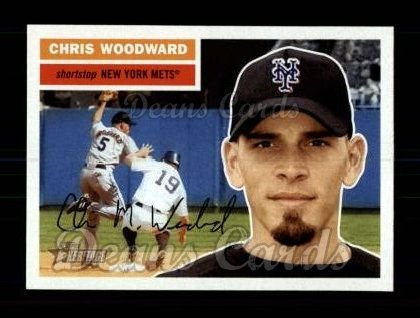 2005 Topps Heritage #62  Chris Woodward