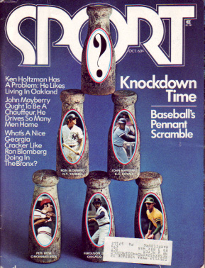 1973 Sport Magazine   -  Pete Rose  October