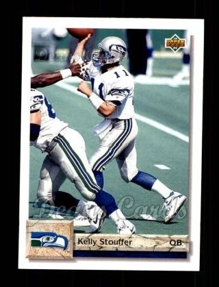 1992 Upper Deck #497  Kelly Stouffer