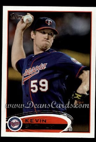 2012 Topps #111  Kevin Slowey