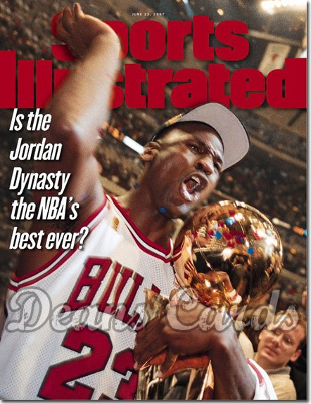 1997 Sports Illustrated   June 23  -  Michael Jordan (Chicago Bulls)
