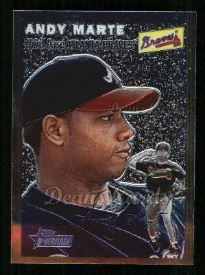 2003 Topps Heritage Chrome #52  Andy Marte