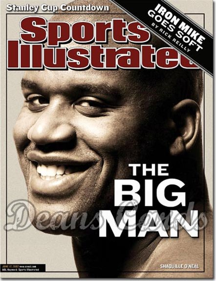 2002 Sports Illustrated   June 17  -  Shaquille O'Neal LA Lakers