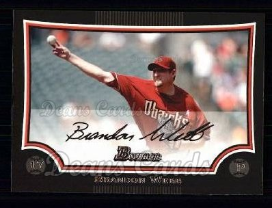 2009 Bowman #180  Brandon Webb