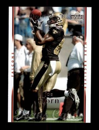 2007 Upper Deck #6  Joe Horn