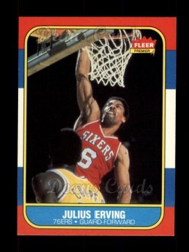 1986 Fleer #31  Julius Erving
