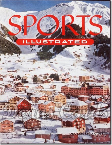 1954 Sports Illustrated   December 27  -  Klosters Skiing