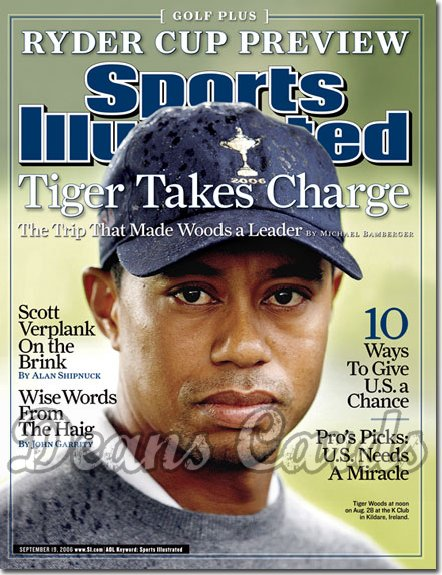 2006 Sports Illustrated   September 19  -  Tiger Woods Golf Plus No #2