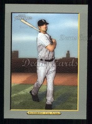 2005 Topps Turkey Red #91  Paul Konerko