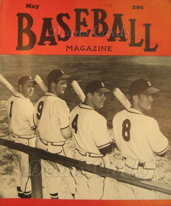 1948 Baseball Magazine    May