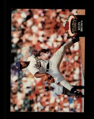 1992 Topps Stadium Club #123  Kevin Brown
