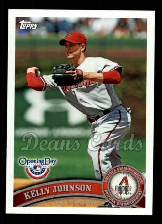 2011 Topps Opening Day #197  Kelly Johnson