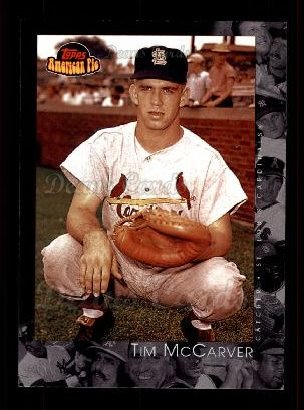 2001 Topps American Pie #81  Tim McCarver
