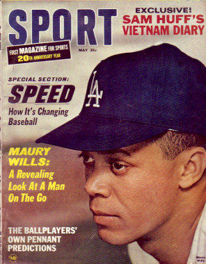1966 Sport Magazine   -  Maury Wills  May