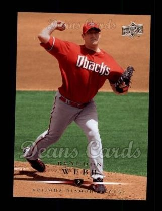 2008 Upper Deck #91  Brandon Webb