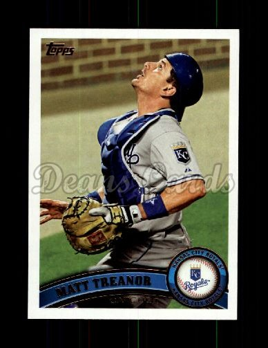 2011 Topps Update #44  Matt Treanor