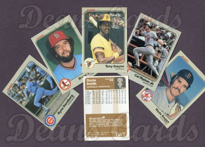 1983 Fleer     Baseball Complete Set (In Box)