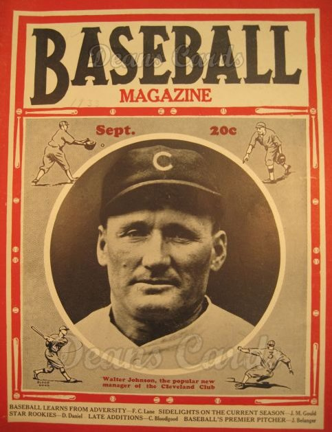 1933 Baseball Magazine    September