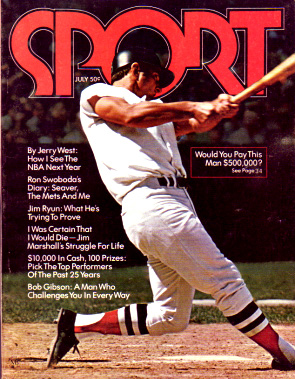 1971 Sport Magazine   -  Carl Yastrzemski  July