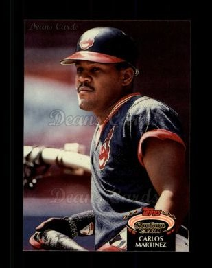 1992 Topps Stadium Club #482  Carlos Martinez