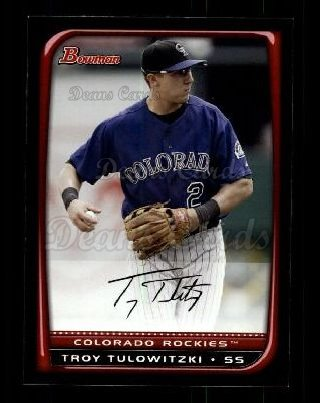 2008 Bowman #138  Troy Tulowitzki