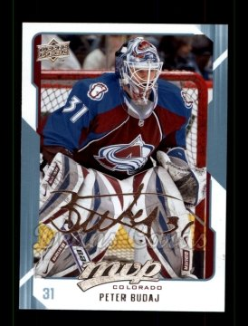 2008 Upper Deck MVP #79  Peter Budaj