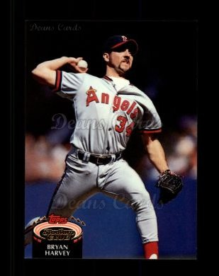 1992 Topps Stadium Club #410  Bryan Harvey