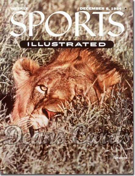 1954 Sports Illustrated   December 6  -  African Lion