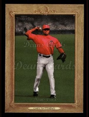2007 Topps Turkey Red #114  Gary Matthews