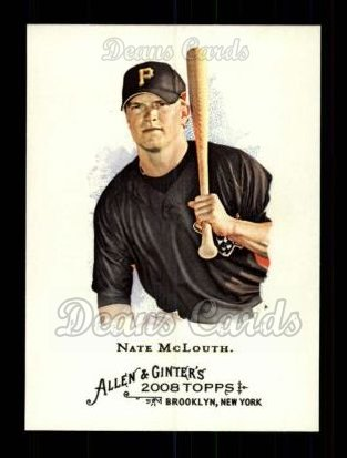 2008 Topps Allen & Ginter #182  Nate McLouth